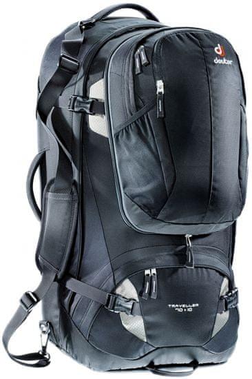 Deuter nahrbtnik Traveller 70 + 10, črn