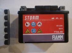 Fiamm moto akumulator (12V, 3,6 Ah, FTX4L-BS)