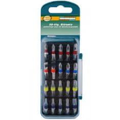 Mannesmann Werkzeug 20-delni set barvnih vijačnih nastavkov