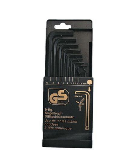 Mannesmann Werkzeug 9-dijelni set imbus ključeva za kutno uvrtanje vijaka