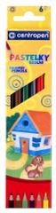 Centropen Pastelky  06 ks šestihranné