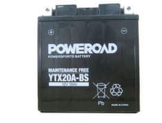Uplus moto akumulator Poweroad YTX20A-BS (12V, 18Ah, 150 x 87 x 161 mm)
