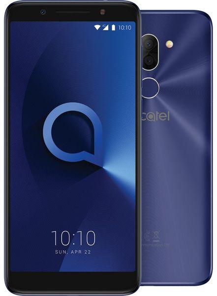 Alcatel 3X (5058I), Metallic Blue