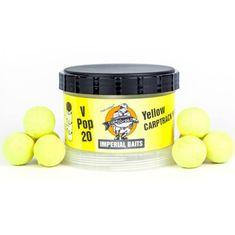Imperial Baits Impeiral Baits Plovoucí Boilies Carptrack V-Pops Žluté 60 g