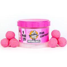 Imperial Baits Impeiral Baits Plovoucí Boilies Carptrack V-Pops Růžové 60 g