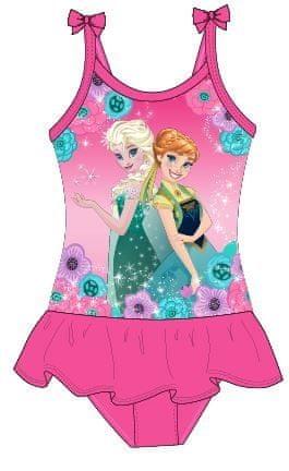 E plus M dívčí plavky Frozen 104/110 růžová