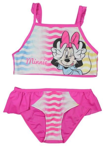 E plus M dívčí plavky Minnie 116/122 růžová