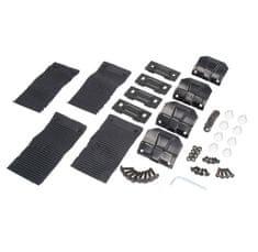 JOPE Montážny kit pätky, 4 ks, typ strechy: štandardná, pre vozidlá PEUGEOT 508, 4 dv., 11-14; ŠKODA FABIA II (5J), 5 dv., 07-14; VOLVO S80 II, 4 dv., 06-; VOLVO V50, 5 dv., 04-12