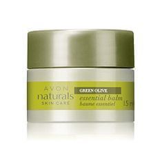 Avon Balzám s výtažky z oliv Naturals (Essential Balm) 15 ml