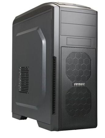 Antec ohišje GX500, midi ATX, črno