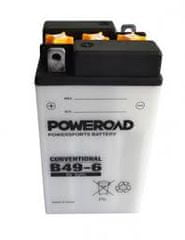 Poweroad akumulator za motor (standardni, 6V, 10Ah)