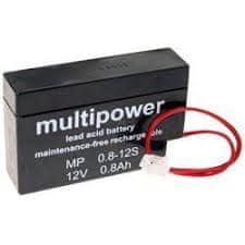 Multipower akumulator, 12V, 800 mAh