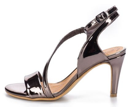 s.Oliver ženski sandali 40 srebrna