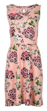 Q/S designed by sukienka damska XS łososiowy