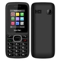 Beafon GSM telefon C60, Dual Sim, črn