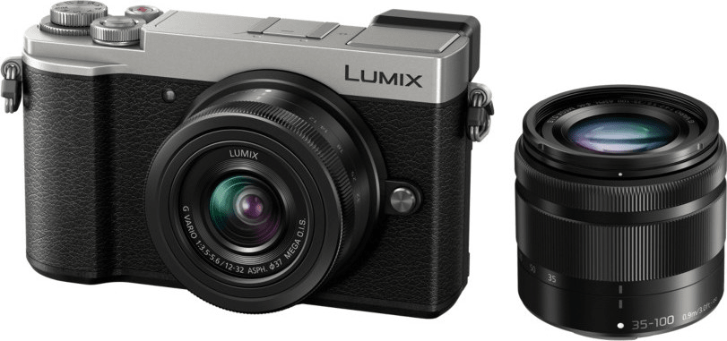 Panasonic Lumix DC-GX9 + 12-32 + 35-100 Silver (DC-GX9WEG-S)