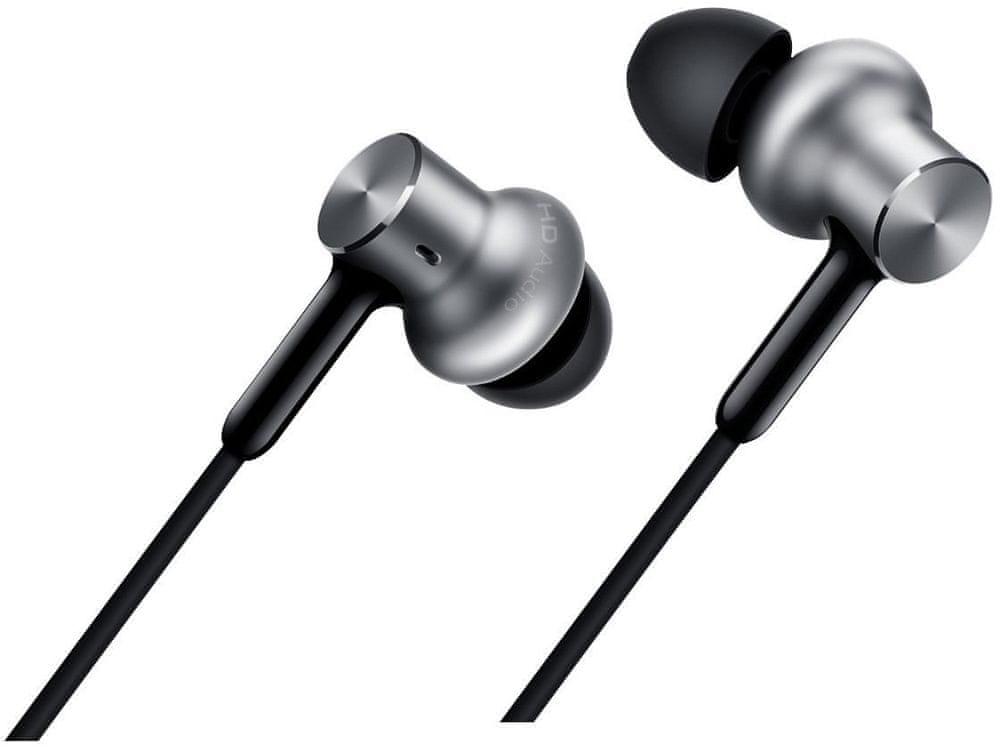 Xiaomi Mi In-Ear Headphones Pro HD, stříbrná 14548