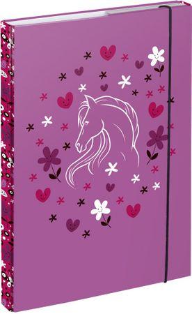 BAAGL pudełko na notatniki A4 Konie