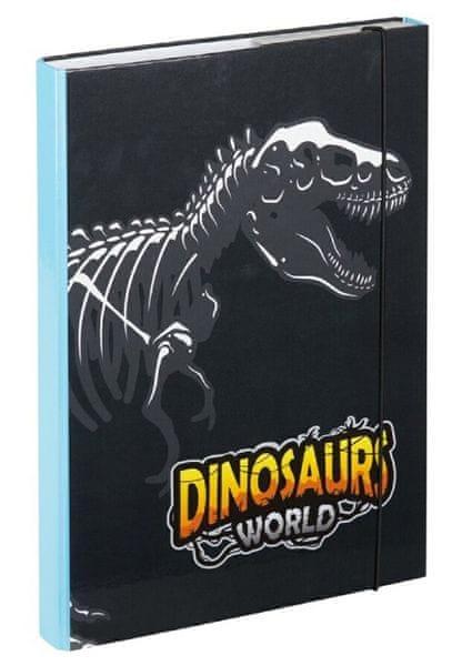 BAAGL Desky na školní sešity A4 Dinosauři