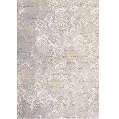 Koberec, béžová so vzorom, 80x200, BALIN