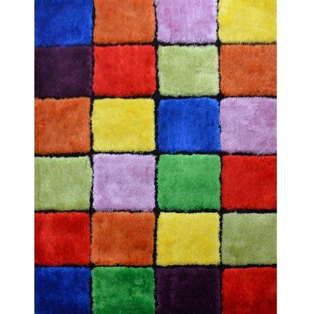 Koberec, mix farieb, 100x140, LUDVIG TYP 4