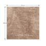 6 -  Koberec, svetlohnedý, 80x150, ANNAG