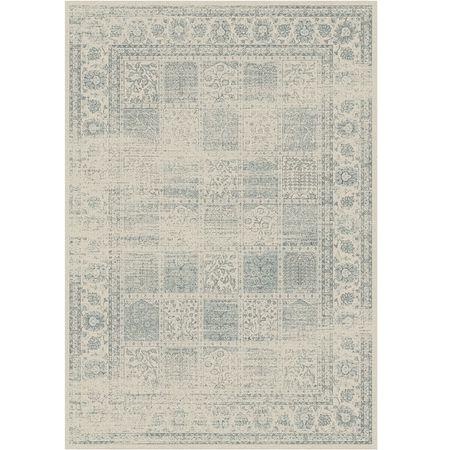 Vintage koberec, sivý, 200x250, ELROND