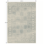 5 -  Vintage koberec, sivý, 200x250, ELROND