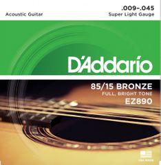 Daddario EZ890 Kovové struny pro akustickou kytaru