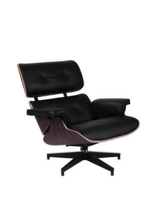 Mørtens Furniture Designové otočné křeslo Easy, černá/eben