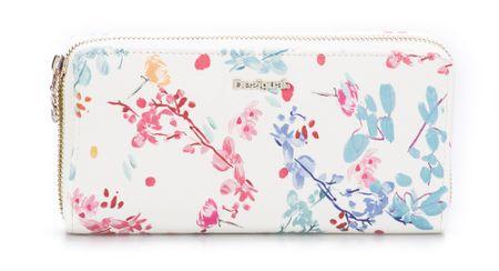 Desigual ženska denarnica bela Nova Fiona