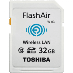 Toshiba SD kartica FlashAir W-03, Class 10, 32 G