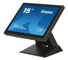 """iiyama LED LCD monitor ProLite T1532SR-B3, 38 cm (15""""), VGA/DVI, na dotik"""