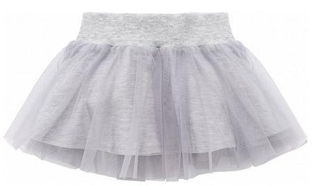 PINOKIO Dívčí sukně Happy day - šedá 98
