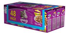 Whiskas mačja hrana v želeju Casserole, 4 x (12 × 100 g)