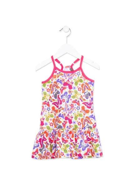 Losan dívčí šaty 98 vícebarevná