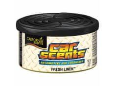 California Scents Vůně do auta Car Scents - Fresh Linen (čerstvě vypráno), vůně čistoty, výdrž 2 měsíce