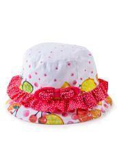 Losan dívčí klobouk 818-A001AD_SS18 bílá
