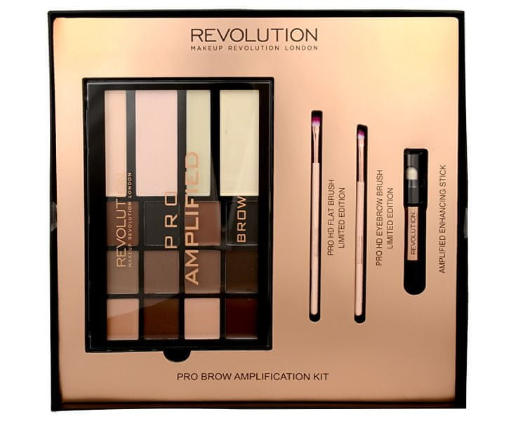 Makeup Revolution Sada na úpravu obočí Brow Amplification