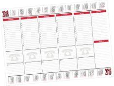 Mapa plánovací A2 s kalendáriem, 30 listů