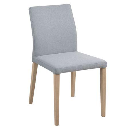 Design Scandinavia Jídelní židle Dita (SET 2 ks), šedá