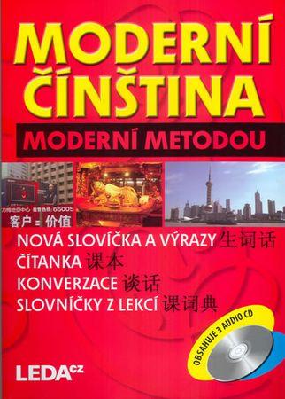 Hábová Milada: Moderní čínština moderní metodou - 3 knihy+3CD