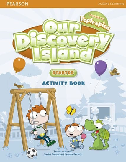 Lochowski Tessa: Our Discovery Island Starter Activity Book and CD-ROM Pack