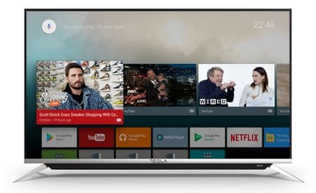 Tesla 4K TV sprejemnik 55S901SUS (Smart TV)
