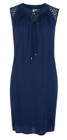 Q/S designed by dámské šaty 34 tmavě modrá
