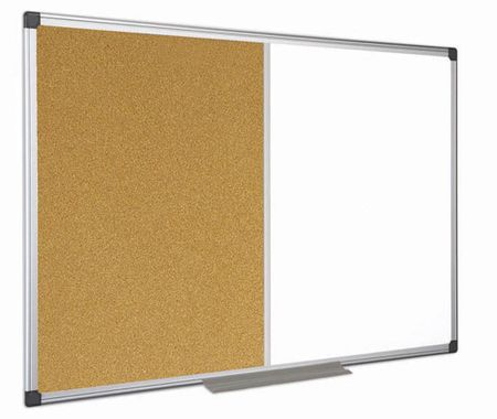 Bi-Office kombinirana tabla magnet in pluta, 120 x 240 cm