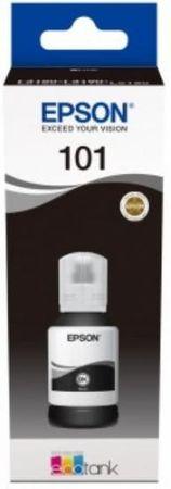 Epson črnilo EcoTank 101 za L6190, steklenička, 127 ml, črna (C13T03V14A)