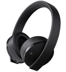 Sony brezžične stereo slušalke Gold za PlayStation 4, črne