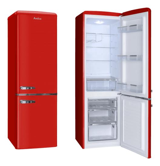 Amica lodówko-zamrażarka KGCR 387100 R