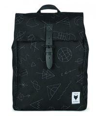 The Pack Society nahrbtnik, črn